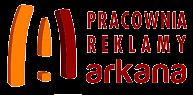 logo pracownia reklamy arkana